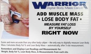 Sequoia Fitness Products Warrior Digital Body Mass Caliper