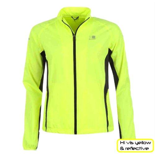 Hi viz sports jacket for women by karrimor yellow and for Hi viz running shirt
