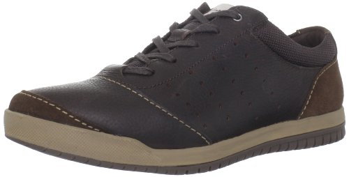 Clarks Men's Rhombus Euro Fashion Sneaker,Brown,8 M US