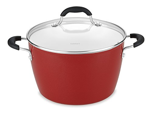 Cuisinart 5944-24R Elements Stockpot with Cover, 6-Quart