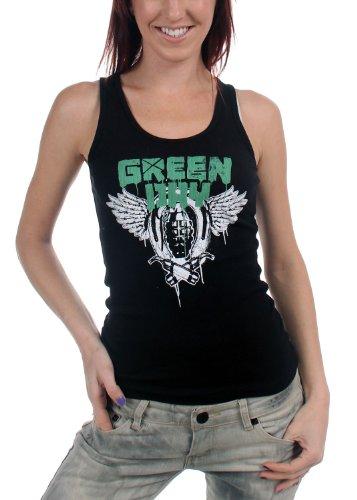Green Day - - Canotta Handgrenades felpe con cappuccio in nero