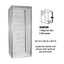 Bulk Storage Locker - Single Tier - Starter - 36 Inches Wide - 60 Inches Deep