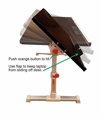 Traveler Folding Stand Up Desk Black Electronics