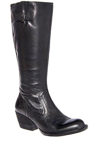 Freeda Mid Calf Mid Heel Boot