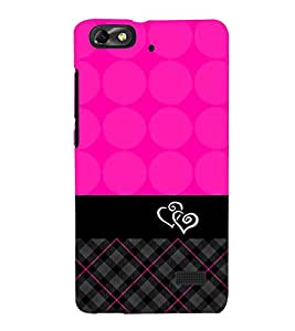 Sqara Pattern 3D Hard Polycarbonate Designer Back Case Cover for Huawei Honor 4C :: Huawei G Play Mini