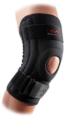 McDavid - Supporto legamenti ginocchio, nero (nero), M
