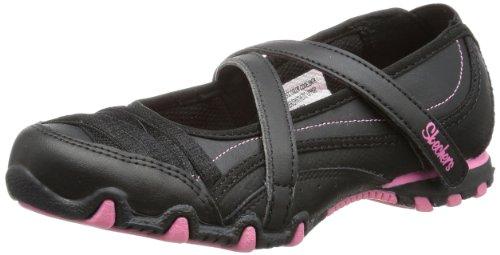 Skechers  BikersPretty Party Ballet Flats Girls  Black Schwarz (BKPK) Size: 35