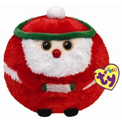 Ty Beanie Ballz Kringle - Santa