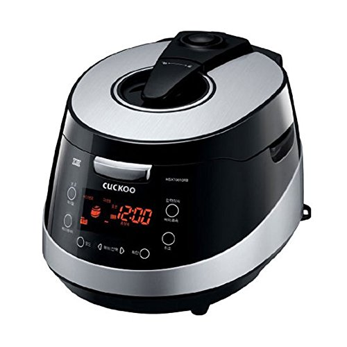 Coucou crp-hsxt0610fb électrique 6tasses pression Cuiseur de riz chaud Voix Guide Noir 220V