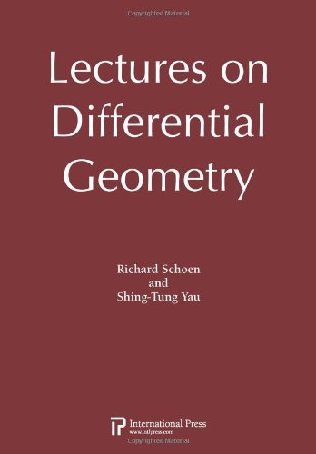 Lectures On Differential Geometry (2010 Re-Issue)