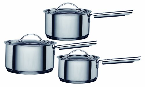 Hahn Saucepan Set Stainless Steel, 3 Piece