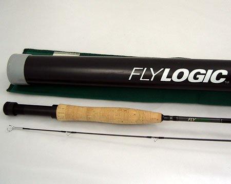 Fly Logic FLP+ 906/2 Nine Foot #6 - #7 Weight 2 Piece Fishing Rod Flyrod + Tube Made In USA