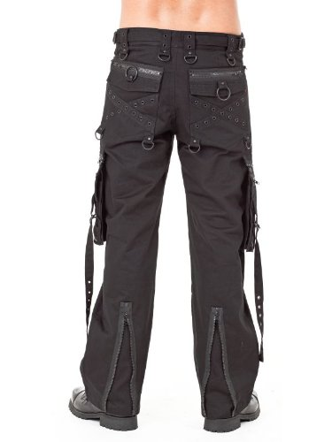 Queen of Darkness, Trousers with Side Pockets, size S
