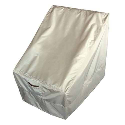 Leader Accessories Pro Series Heavy Duty Chair Covers for Wicker Lounge Spring Patio Chairs image