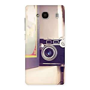 Premium Pastel Camera Back Case Cover for Redmi 2s