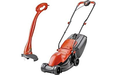 Flymo Electric Easimo Lawnmower and Mini Grass Trimmer-900W