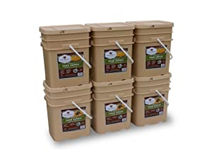 Wise Company 720 Serving Package (120-Pounds, 6-Buckets) by Wise Company