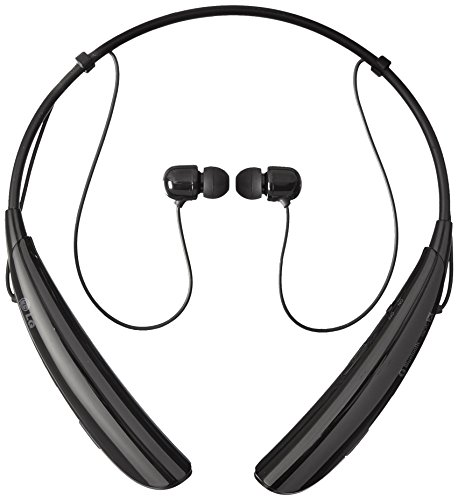 LG Electronics Tone Pro HBS-750 Bluetooth Wireless Stereo Headset - Retail Packaging - Black (Lg Electronics Tone Pro compare prices)