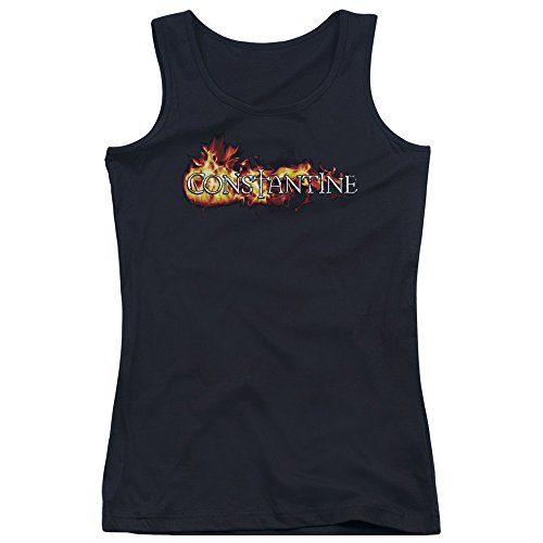 Constantine-bambini, motivo: In Flames-Canottiera da uomo con Logo Nero  nero