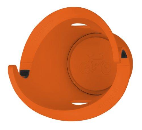 cycloc サイクロック 自転車デザインフック オレンジ