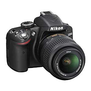 Nikon D3200 24.2 MP CMOS Digital SLR Black