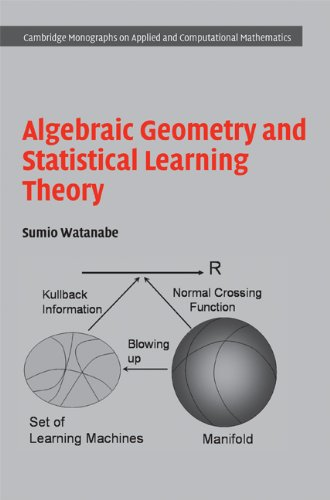 Algebraic geometry and statistical learning theory