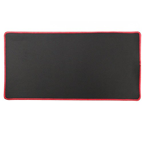 Cmhoo XXL Professional Large Mouse Pad & Computer Game Mouse Mat (90x40 Red)