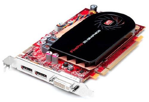 ATI FirePro V5700 Grafikkarte (PCI-e, 512MB GDDR3 Speicher, 256 Bit, 2x DVI-I, 1 GPU)