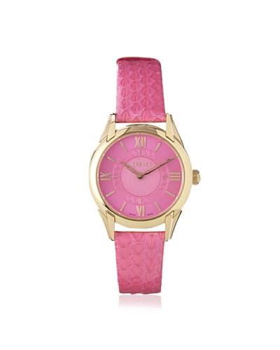 Versace Women's VFF070013 Dafne Pink Stainless Steel Watch