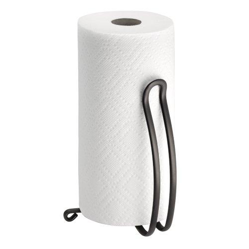 Countertop Paper Towel Holder : InterDesign Axis Paper Towel Holder for Kitchen Countertops - Bronze ...