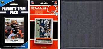 NFL Cleveland Browns Licensed 2013 Score Team Set and Favorite Player Trading Card... by C&I Collectables
