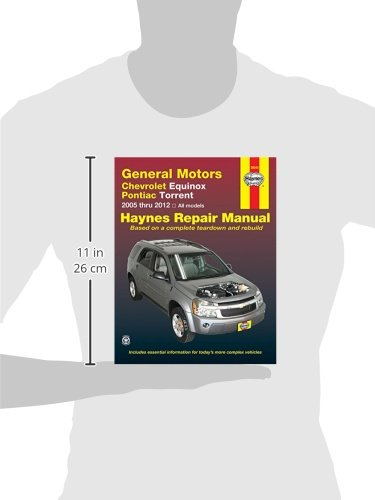 General Motors Chevrolet Equinox And Pontiac Torrent  2005 Thru 2012 All Models  Haynes Repair