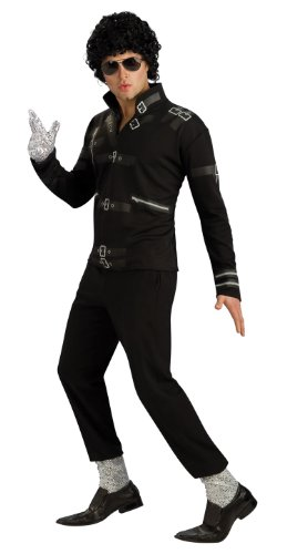Black Michael Jackson Bad Jacket Costume