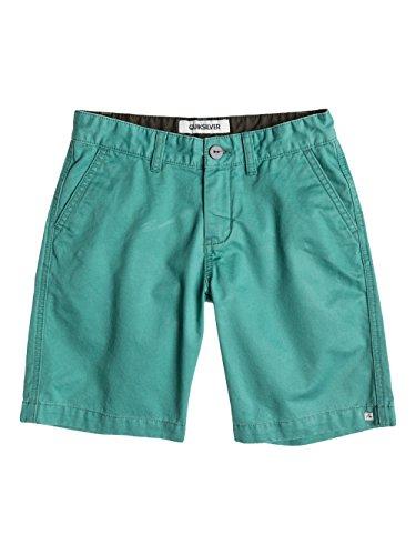 QUIKSILVER - Everyday Chino, Shorts per bambini e ragazzi, verde (grün - beryl green), 16