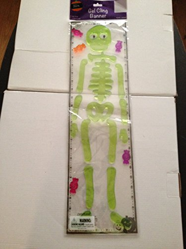 Halloween Gel Cling Banner