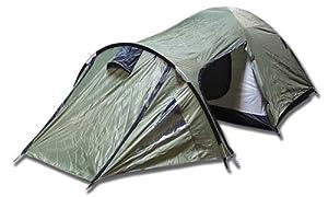 Backside T-3 3 person 3 season Tent (Green/Black)