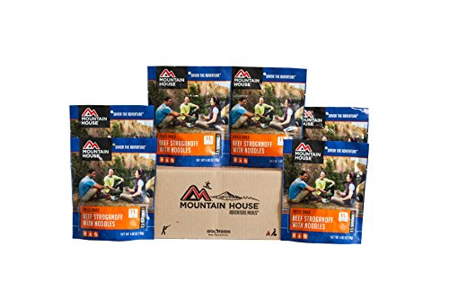Mountain House Beef Stroganoff with Noodles Premium Case Pack (Emergency Dry Food compare prices)