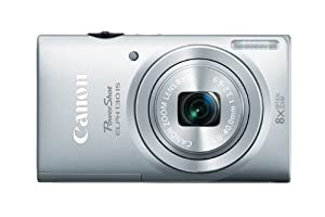 Canon PowerShot ELPH 130 IS 16.0 MP Digital Camera with 8x Optical Zoom 28mm Wide-Angle Lens and 720p HD Video Recording (Silver)