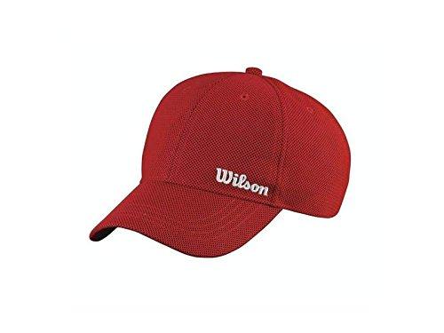 Wilson Berretto estivo, Rosso/Bianco
