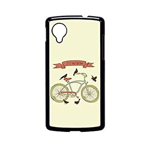 Vibhar printed case back cover for Nexus 5 LoveMyBike