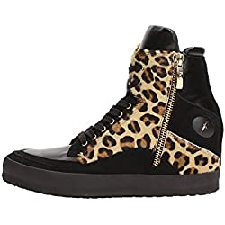 4US CESARE PACIOTTI IIAD4C Sneakers Donna Pelle Nero/Ebano