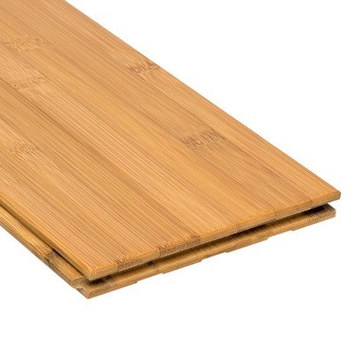 "Hoizontal 5-5/8"" Solid Bamboo Flooring in Toast"