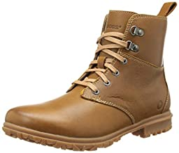Bogs Women\'s Pearl Lace Leather Boot,Tan,10 M US