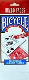 Bicycle Poker JUMBO FACES Playing Car…