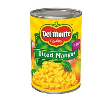 Del Monte, Diced Mangos in Light Syrup, 15oz Can (Pack of 6) (Canned Mangoes compare prices)