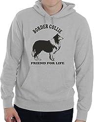 Border Collie Dog Lover Adult Unisex Hoodie Birthday Gift Idea Size S-XXL