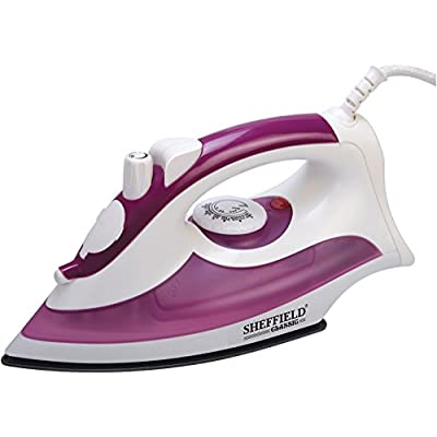 SHEFFIELD CLASSIC 9016 1200-Steam Dry Iron (Purple)