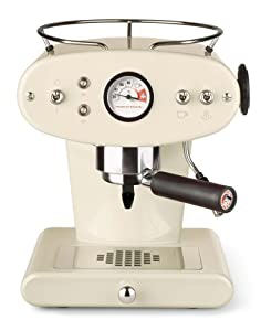Francis Francis for Illy X1 Ground Coffee Machine, Almond