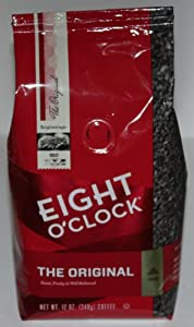 Eight O'Clock Coffee, Original Ground, 12-Ounce Bag (Pack of 4)