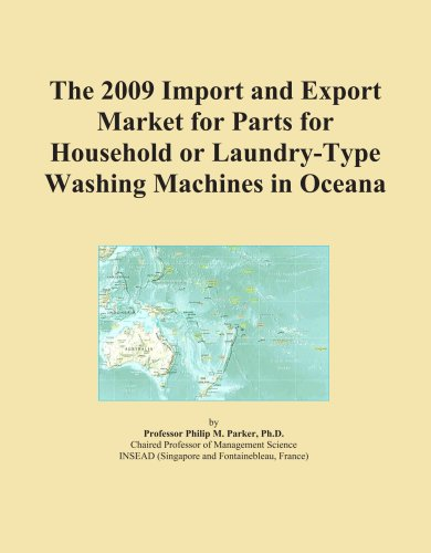 The 2009 Import And Export Market For Parts For Household Or Laundry-Type Washing Machines In Oceana front-610981